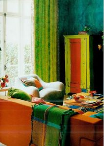 Nick Garrett contemporary painted furniture Designers Guild