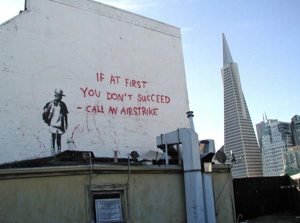 Banksy sharp ending it