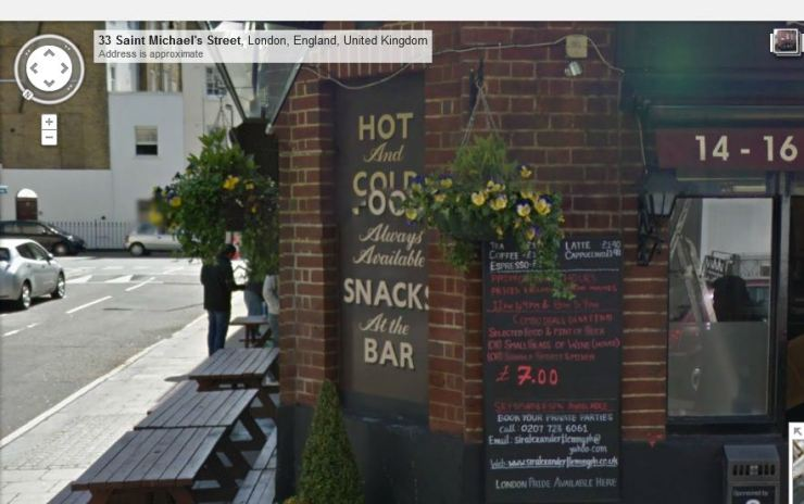 Sir Alexander Flemming Pub sign made NGS 1981