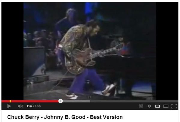 Chuck Berry Brogues