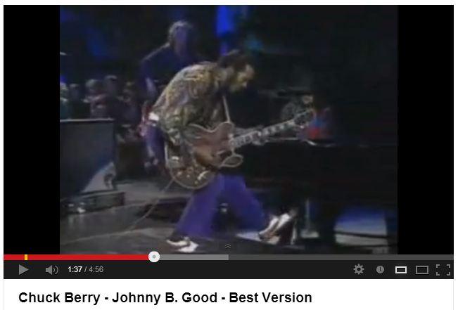 Chuck Berry Brogues