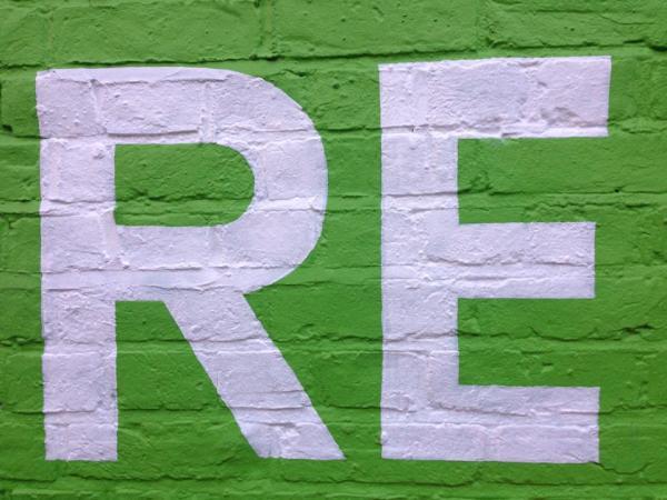RE large format signage
