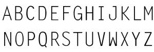 LetterGothic-ThinA